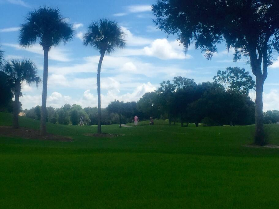 Beautiful 18 hole golf course