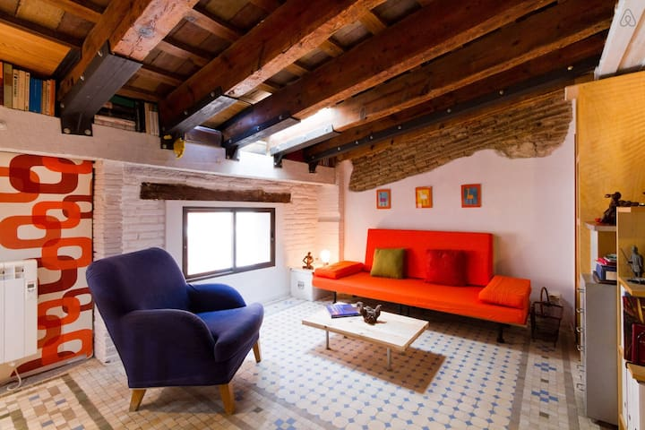 Best location!Very central, sunny terrace, wifi - València - Apartment