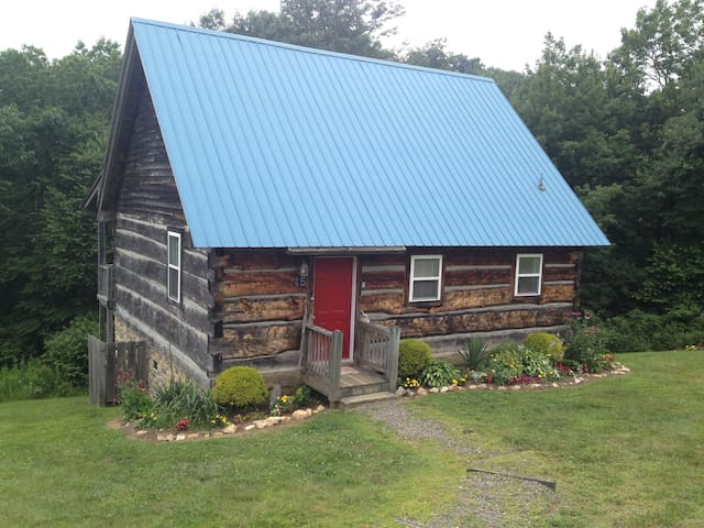 A Blue Ridge Haven log cabin