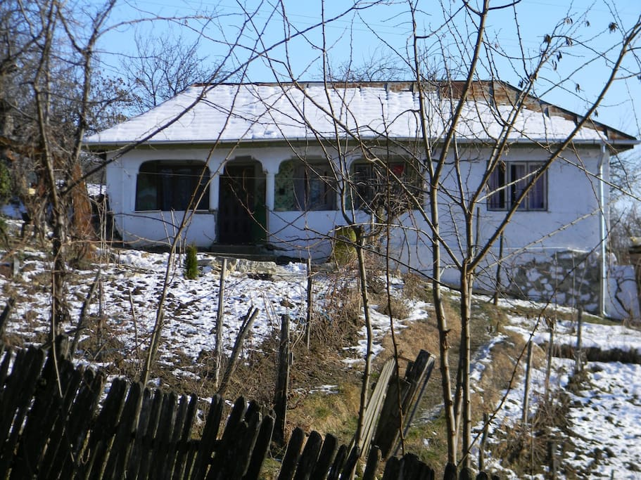 The house in winter.