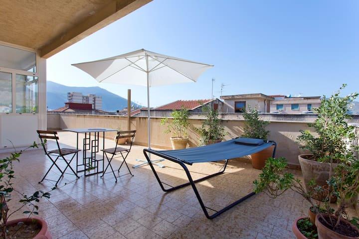 Il Girasole, relax in terrazza