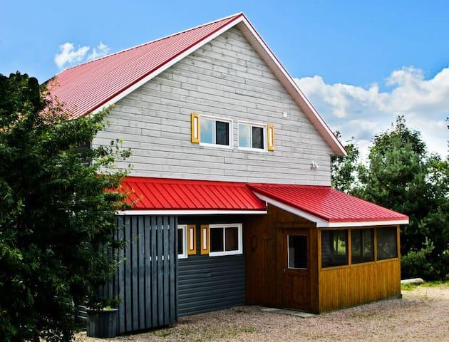 Geai Bleu, billard et spa - Saint-Gabriel-de-Valcartier - House