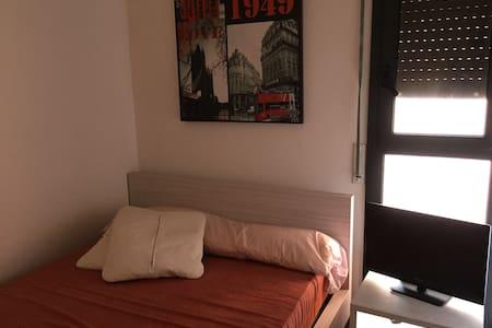 1 hab doble en piso moderno - Amposta - Apartamento