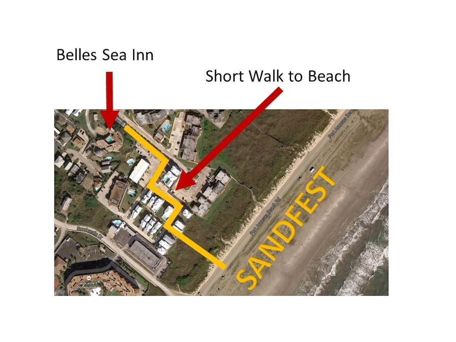 Port Aransas Beach destination