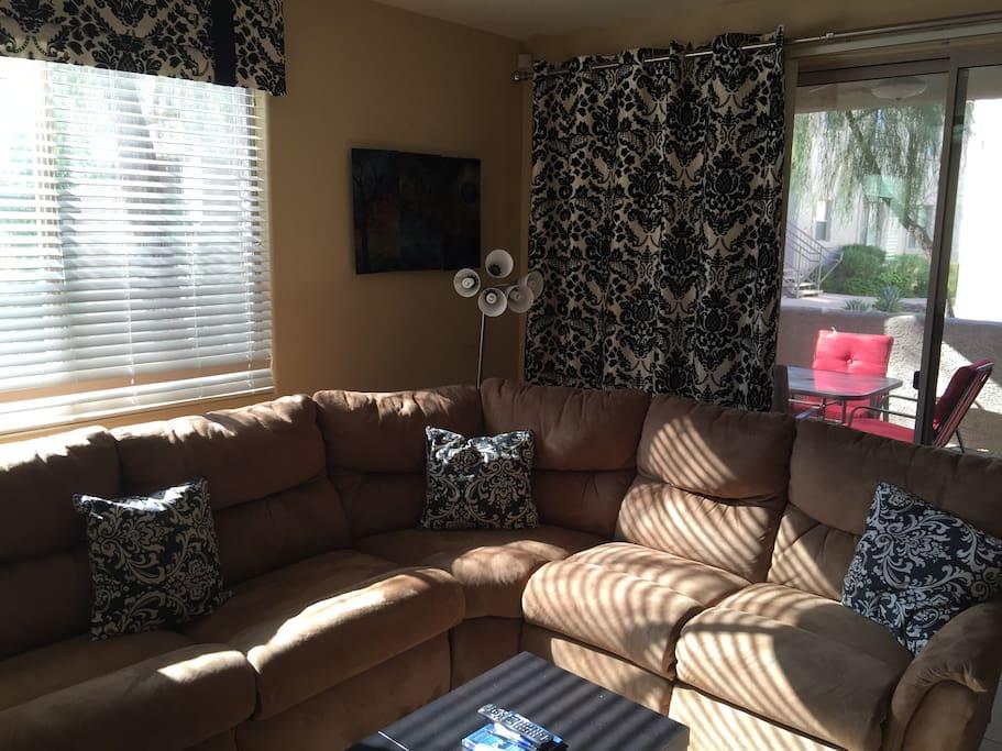 Sectional LAZY Boy sofa