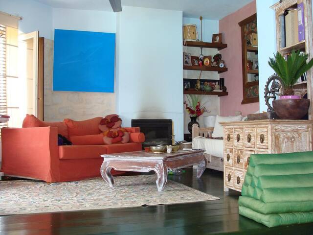 Villa Zen in the blue - Siros - Hus