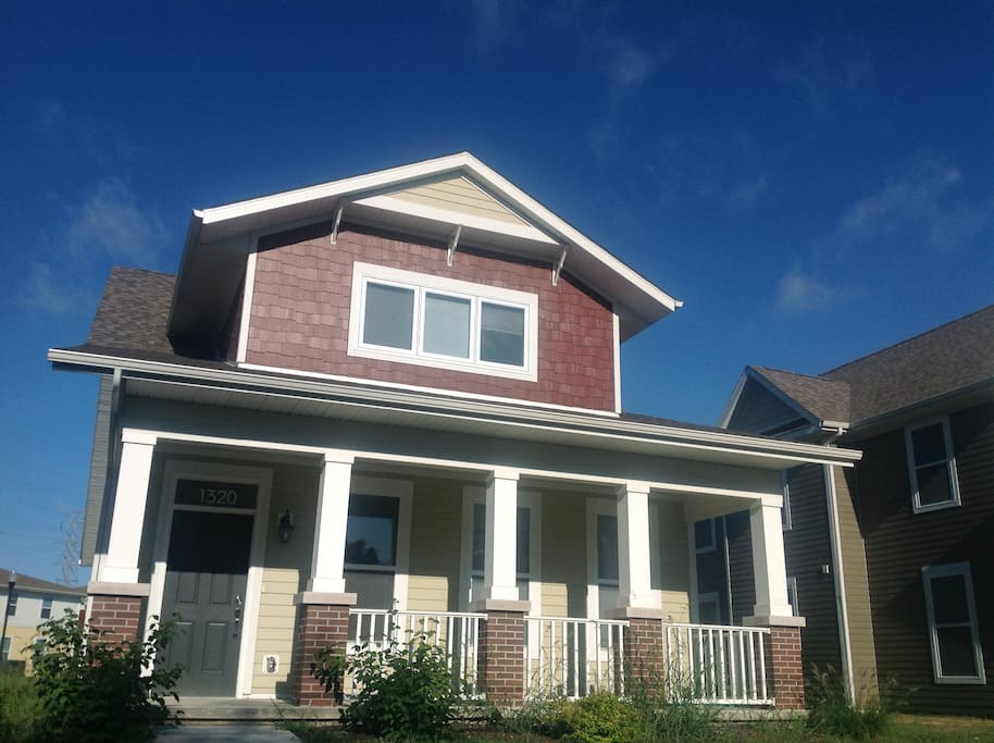 Comfy Craftsman Near Purdue Houses For Rent In Lafayette