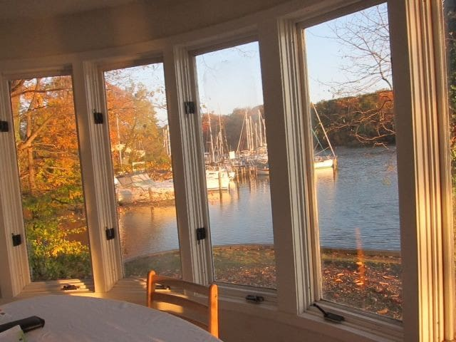 Large peaceful waterfront apartment - Annapolis - Daire