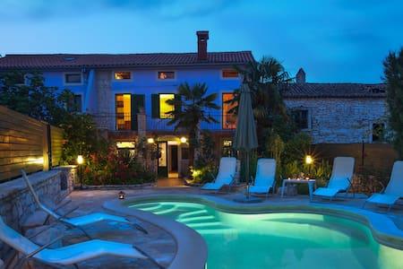 Istrian villa 'Ladonja' rural stone house - Manjadvorci - Rumah