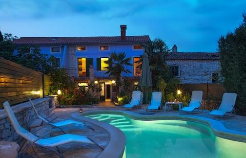 Istrian villa 'Ladonja' rural stone house