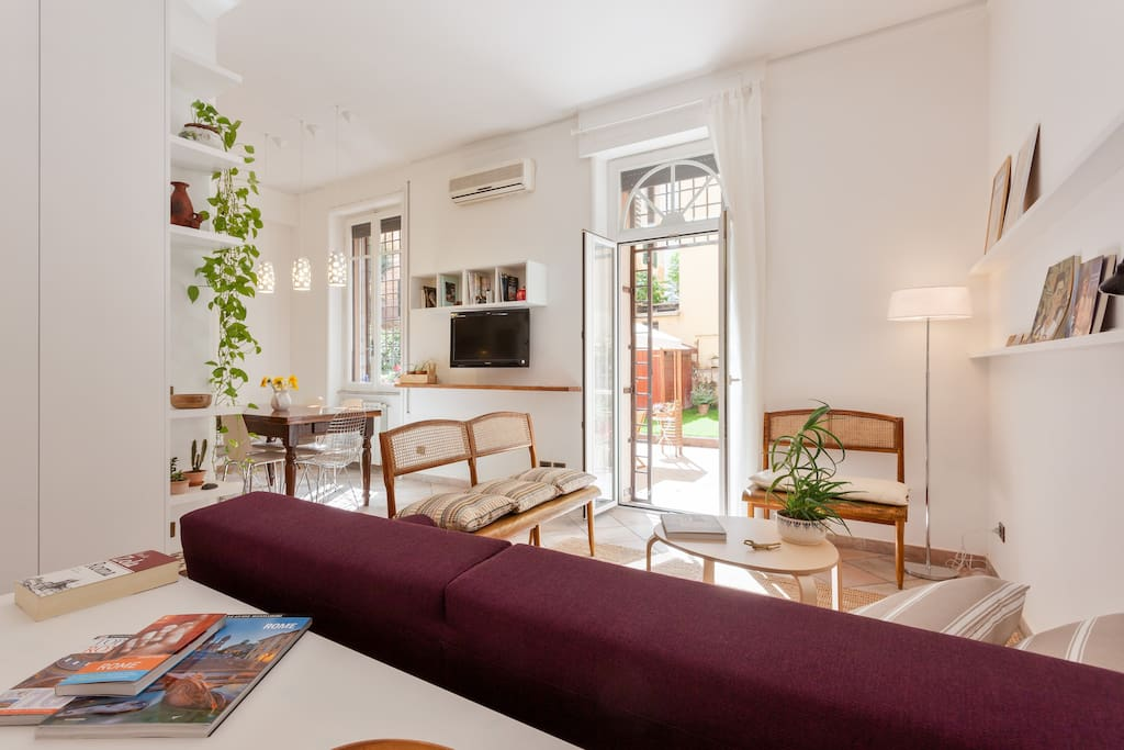 Beautiful Apartment With Garden Apartments For Rent In