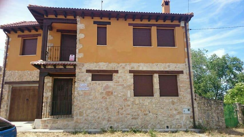 Casa rural en Segovia - Castroserna de Arriba - Dům