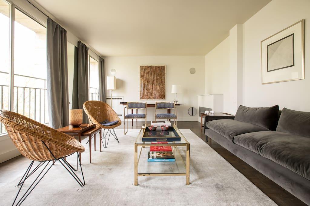 appartement ile saint louis apartments for rent in paris le de france france. Black Bedroom Furniture Sets. Home Design Ideas