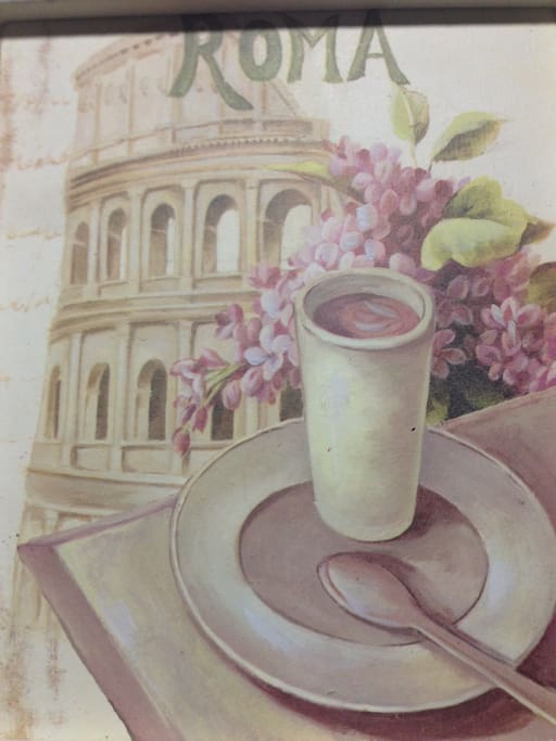 "This is a picture in my House .. I love it because it rapresent the ""dolce vita"""