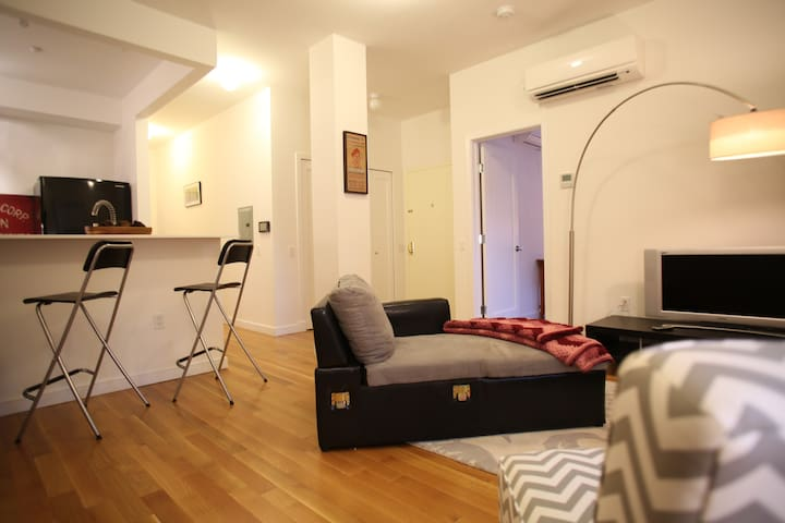 Large 3 Bedroom Duplex Apartment with Backyard - Brooklyn - Condominio