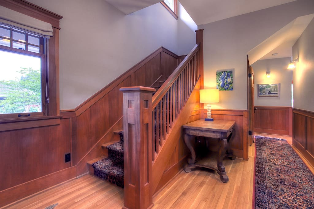 Incredible Millwork Throughout the House