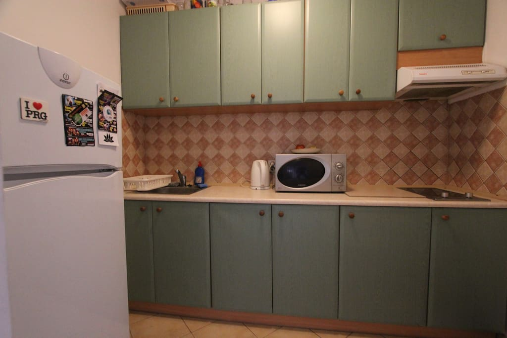 Kitchen at your disposal.