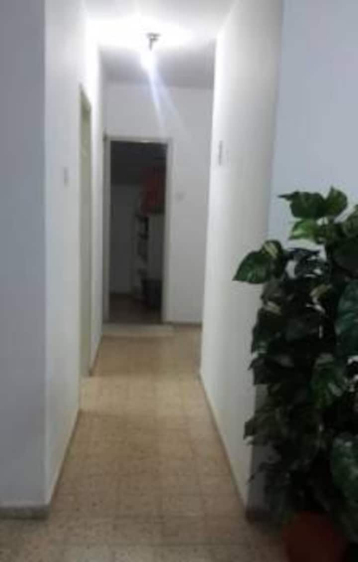 A Room in the quiet center of Afula