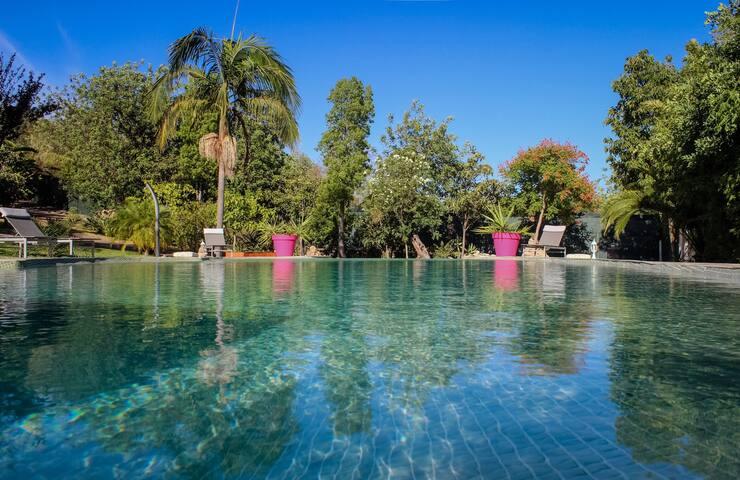 "Maison ""Bougainvillea"" avec piscine - Paderne - บ้าน"