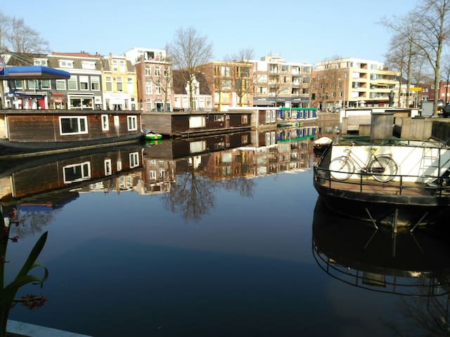 Houseboat citycentre - Groningen - Barco