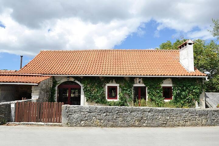Charming cozy rustic house - Mendiga - Villa