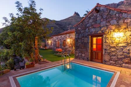 CASA TAMADABA - privater Pool - Agaete - Σπίτι