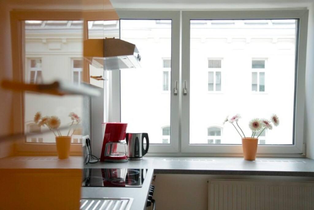 Apartment Orange: zentrale 3-Zimmer-Wohnung - Wohnungen zur Miete in Wien, Wien, Österreich