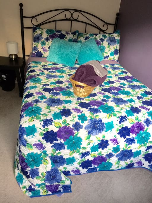 The awesome bed.