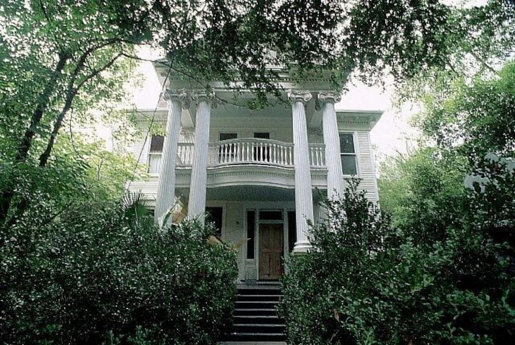 Historic mansion balcony suite on esplanade w pool - 1 bedroom houses for rent in new orleans ...