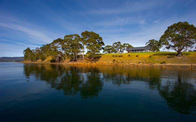 COAST HOUSE Tasmania Cygnet - Cygnet - Dům