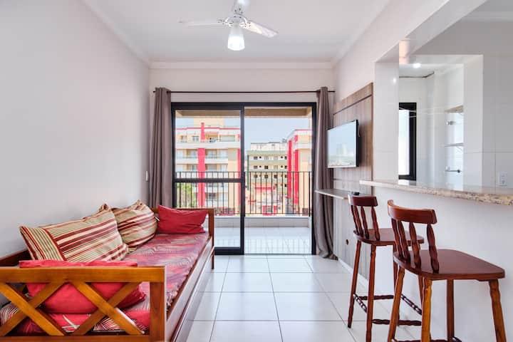 Lindo Apartamento na Praia Grande - 302