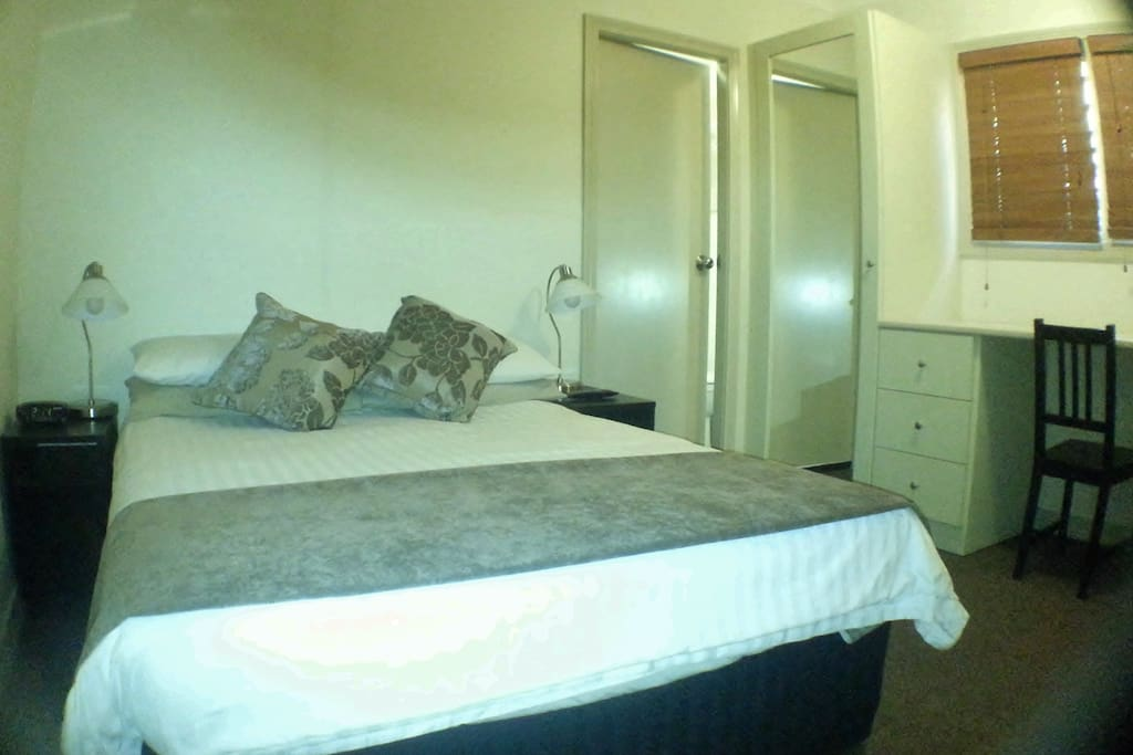 One of our typical double rooms with Ensuite