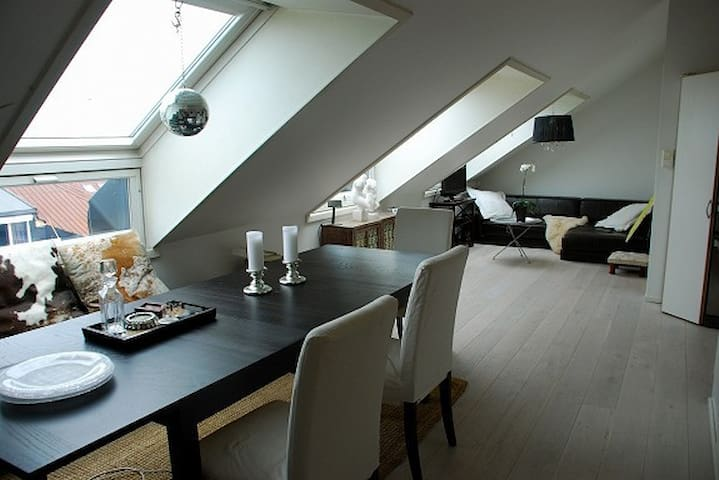 Rooftop apartment /room - Oslo West
