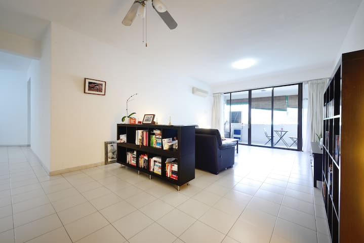 Room in a spacious apt/shared bath - Singapore - Appartement
