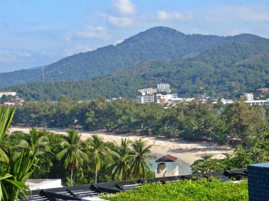 Amazing Views Of Kata Beach From Private Rooftop Terrace