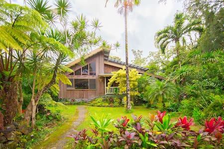 Custom built home in Hawaii - Keaau - Ház
