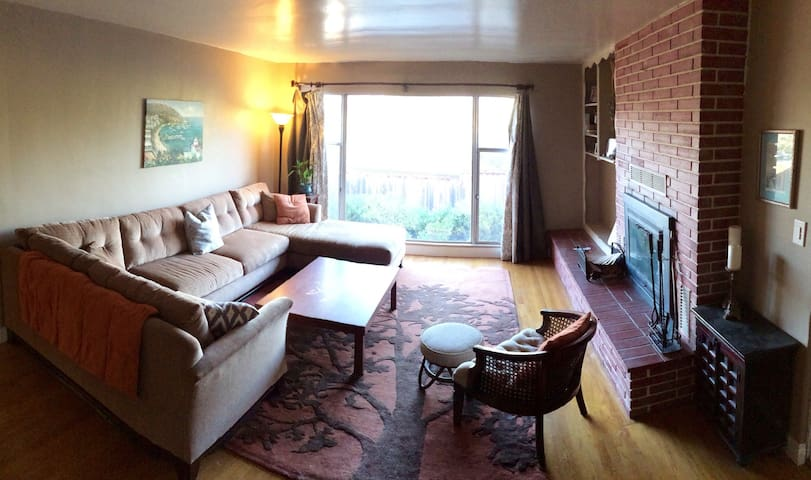 Private 2br suite in shared home - Escondido - House