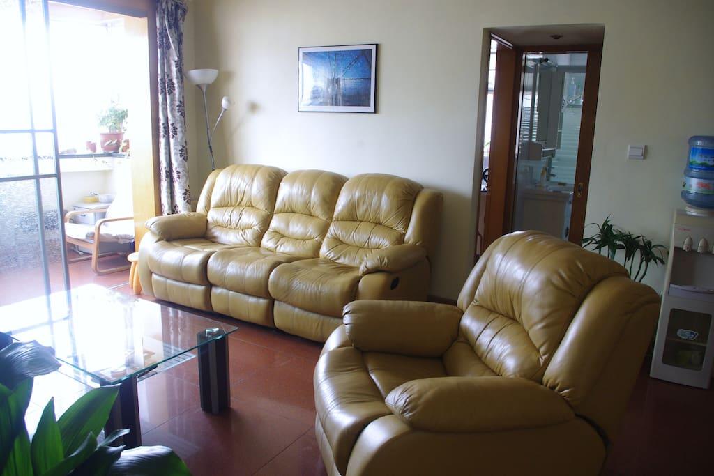 sofa is very nice