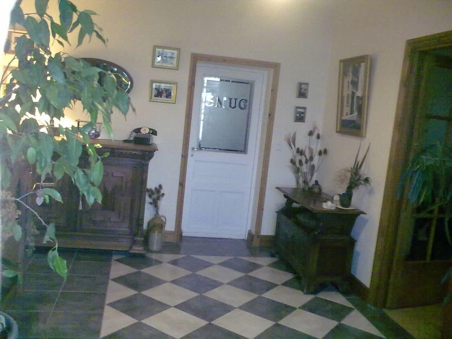 Entrance hallway.