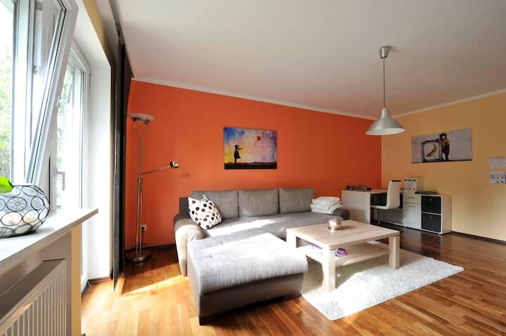 gemütliche 2-Zimmer Wohnung mit großer Wohnküche