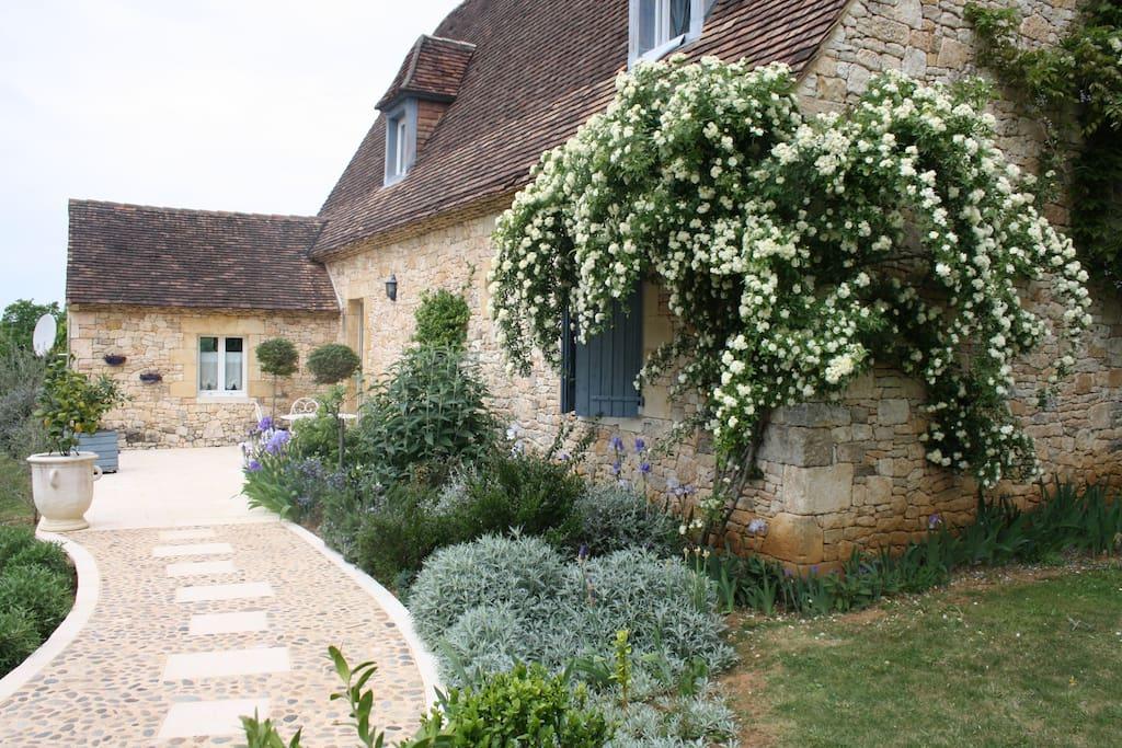 L'entrée Terrasse 1