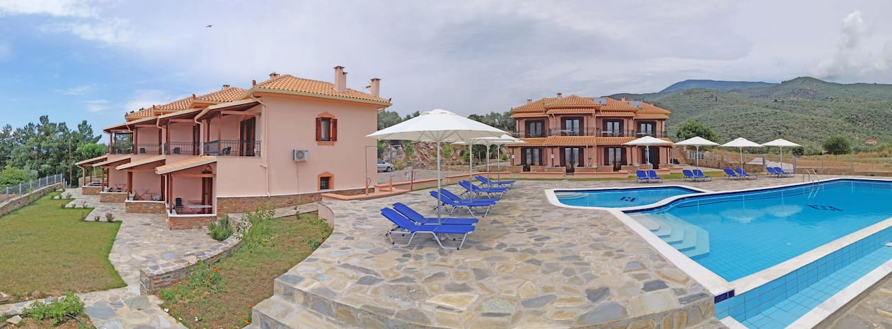 Studio with Sea View (2 Adults) - Kalá Nerá - Bed & Breakfast