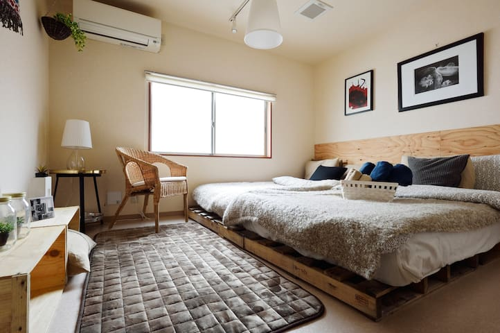 #8 *legal *60㎡ cozy House near Shinsaibashi