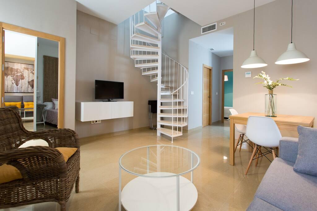 d plex con encanto apartamentos en alquiler en sevilla