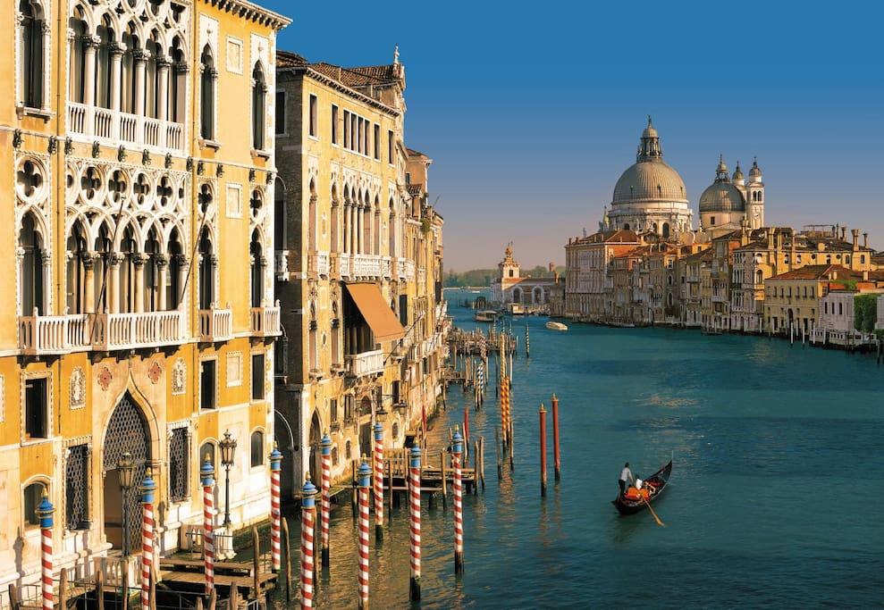 Venezia, il Canal Grande