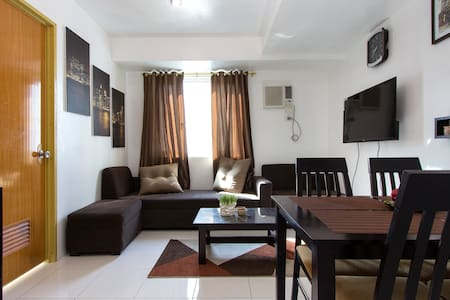 New Fully Furnished 2BR Condo in QC - 奎松城 - 公寓