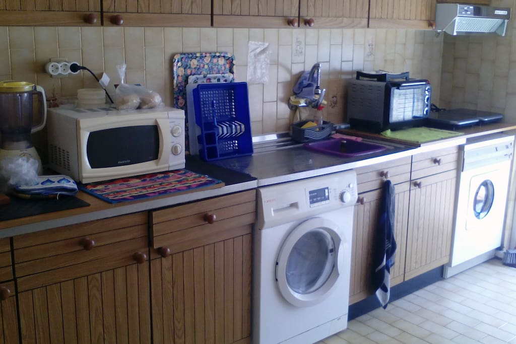 Cozinha completamente equipada / Full Equiped Kitchen