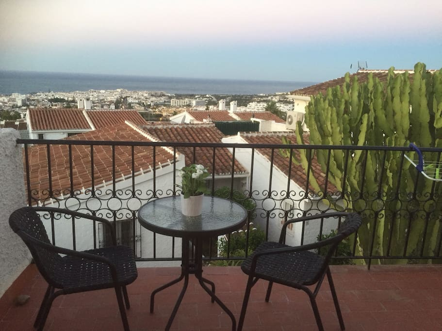 Lovely terrace, views are truly stunning