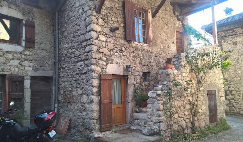 my cool place near Grenoble - La Terrasse - Hus