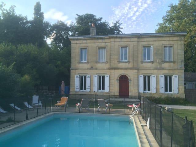 Gite du Château La Blancherie - La Brède - Talo